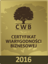 Agencja Pracy Bresland - Certyfikat Wiarygodności Biznesowej 2016